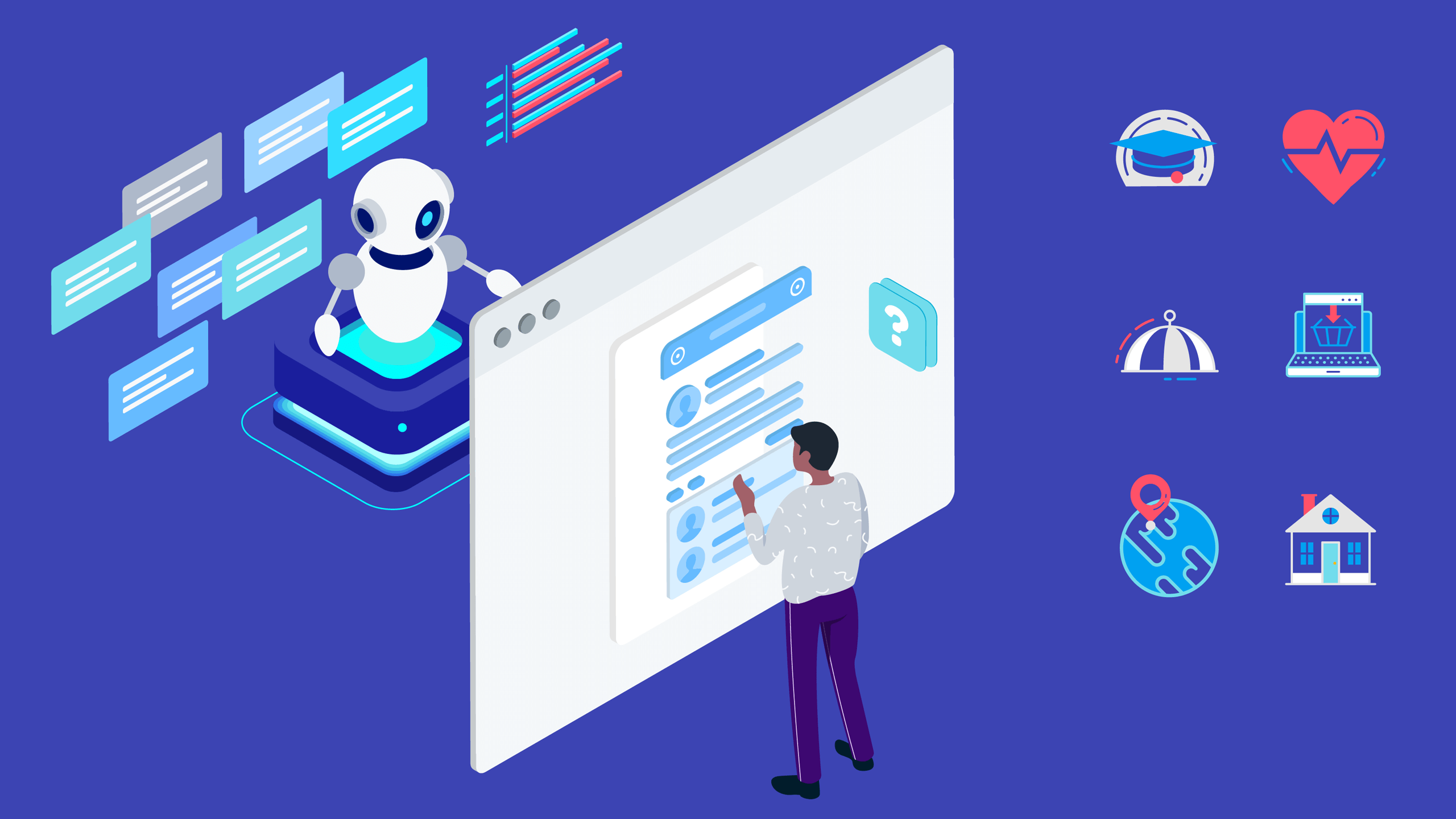 6 Industries Benefiting from the Use of Chatbots